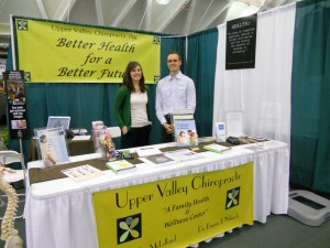 Dr. Natusch and Dr. McLelland at 2011 Homelife Show Hanover, NH